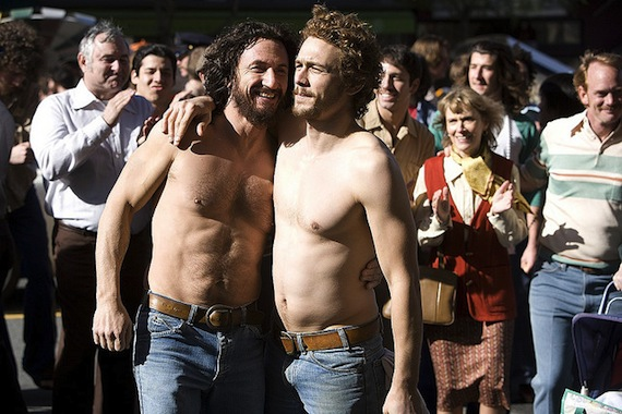 from Thatcher james franco gay prosthetic cock